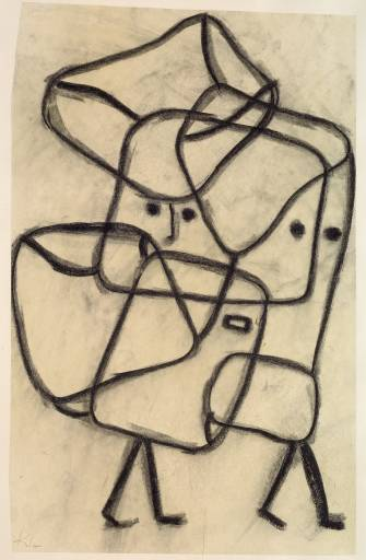 Burdened Children 1930 by Paul Klee
